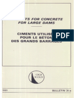 B36A - Cements for Contrete for Large Dams