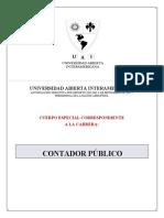 Plan de Estudios C812 UAI contador público