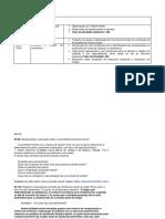 Encontro Presencial - Cronograma Detalhado