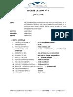 06.Informe Del Residente de Obra