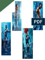 Aquaman-descripción de personajes