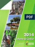 Informe Gestion Mads 2014