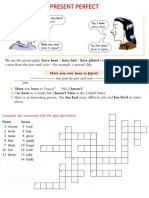 Past Simple v.s. Present Perfect Exercises
