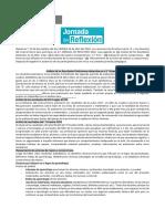Formato Acta Jornada de Reflexion 2019