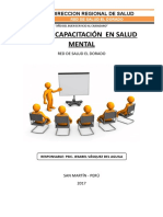 Plan Capac Salud Mental