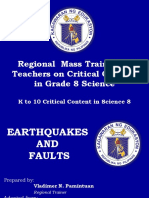 Final Presentation About Earthquakes and Faults