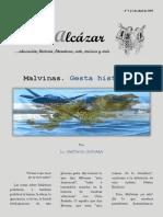 El Alcázar Nº 1. Malvinas. Gesta Histórica