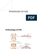 Physiology of Cns