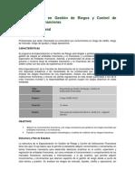 Información Especialización