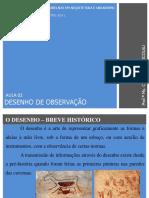 AULA 02-Histórico Do Desenho