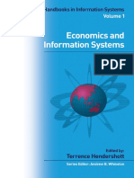 Economics and Information Systems, Volume 1