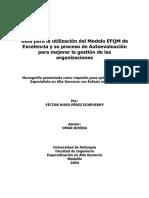 Monografía EFQM