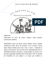 Folleto Cirulaxia 2019