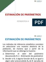 Estimacion de parametros