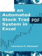 Build an Automated Stock Trading System in Excel