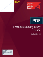 FortiGate Security 6.2 Study Guide