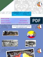 El Psicologo Social Comunitario Contribuye en La Mejora de La Violencia en Colombia