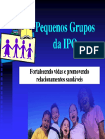 Palestra Pequenos Grupos Na IPO