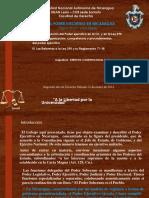 Derecho Constitucional II El Ejecutivo