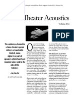 Home Theater Acoustics Vol5