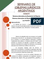 Unidad 8 Seminario Problemas Juridicos Arg.