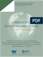 2018 DIREITO E SUSTENTABILIDADE REFLEXÕES CONTEMPORÂNEAS