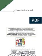 Redes de Salud en Salud Mental en Chile