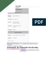 Eduardo Pavlovsky
