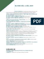 Semana Grande Santander Programa