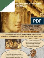 Términos Griegos en La Filosofía Medieva1l