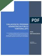 Guia Metodologica Evaluacion Plan de Estudios