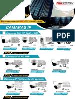 Camaras IP Hikvision Distrobuidor D
