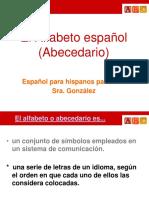 El Alfabeto espa_ol.ppt