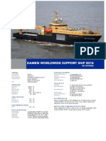 Worldwide Support Ship 8316 DS