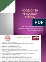 Modelos en Psicología Clínica