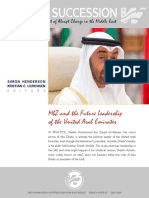 Policy Scenarios about the UAE
