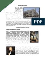 Historia de Chiclayo Trabajo