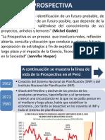 Prospectiva en El Peru