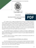 Sentencia Nº56 del Tribunal Supremo de Justicia de Venezuela