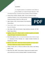 Bibliografía de Fuentes Secundarias