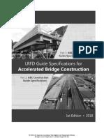 LRFD Accelerated Bridge Construction