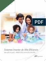 Mini Splits Inverter - Folleto Comercial (Español)