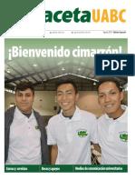 Especial Bienvenida Agosto 2019-Gaceta 421