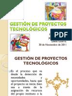 Gestinde proyectos tecnolgicos