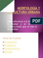 Morfología y Estructura Urbana