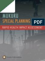 Mukuru Nairobi Health Impact Assessment 2019_UCB R
