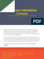 Program Validation Canvas by Kinan Kawuryan