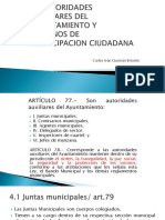 Agentes Municipales, Delegados de Sector, Inspectores