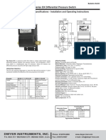 DX Series DPS Specifications - Installation and Operating Instructions