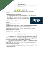 CASOS PRACTICOS procesal civil y comercial.